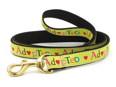 Up Country Adopted Dog Leash - Chicago English Bulldog Rescue - eBully Boutique