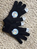 Black CEBR Logo TechTouch Gloves - Chicago English Bulldog Rescue - eBully Boutique