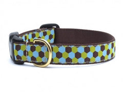 Up Country Honeycomb Dog Collar - Chicago English Bulldog Rescue - eBully Boutique