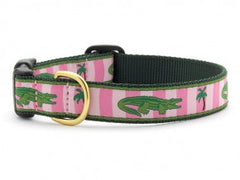Up Country Alligator Dog Collar - Chicago English Bulldog Rescue - eBully Boutique