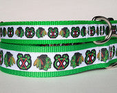 Chicago Blackhawks Collar - Chicago English Bulldog Rescue - eBully Boutique  - 1