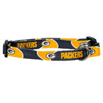 Green Bay Packers Collar - Chicago English Bulldog Rescue - eBully Boutique