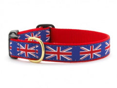 Up Country Union Jack Dog Collar - Chicago English Bulldog Rescue - eBully Boutique