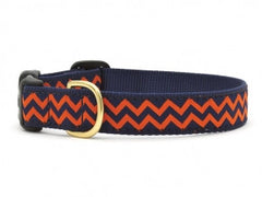Up Country Chevron Dog Collar - Chicago English Bulldog Rescue - eBully Boutique