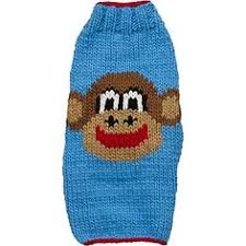 "Chilly Dog ""Blue Monkey"" Sweater"