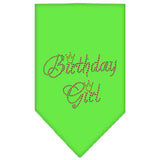 Birthday Girl Green