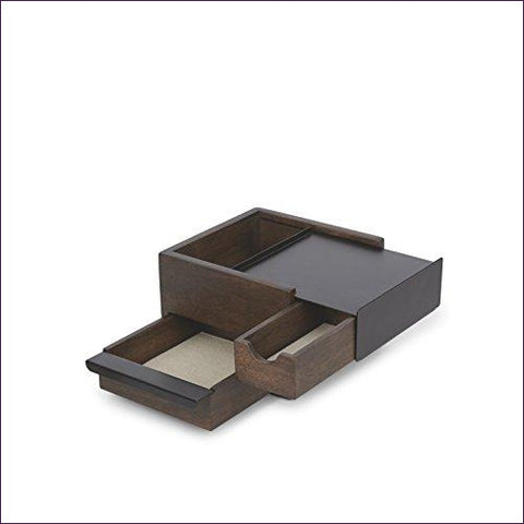 Organizer with Hidden Compartment Drawers