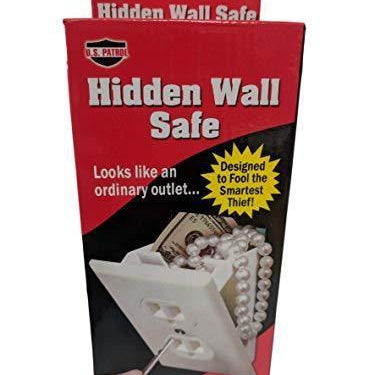 Hidden Wall Safe Secret Stash Electrical Plug