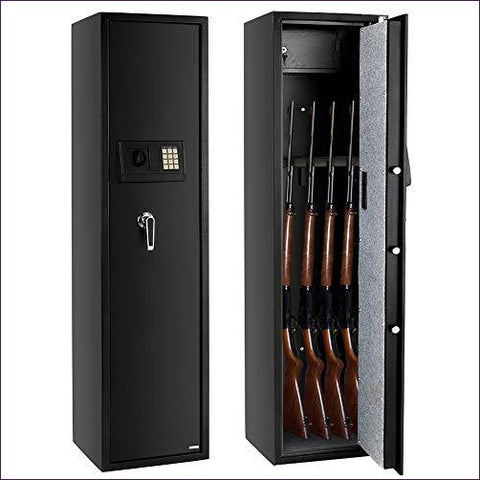 5-Gun Rifle Safe - Home Safes - Find the best secured safes to keep your money, guns and valuables safes and secure -Secret Stashing