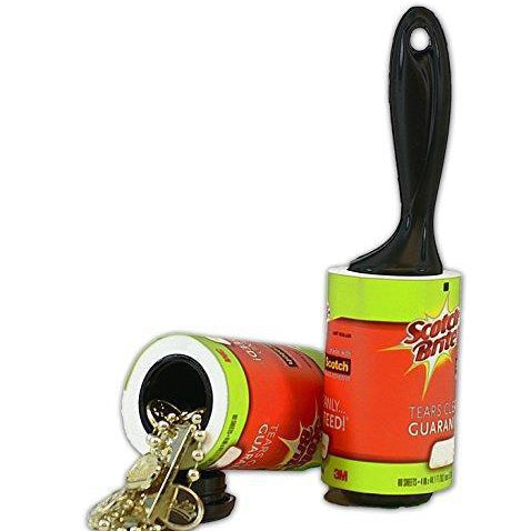 3M Scotch Brite Lint Roller Diversion Safe - Diversion safes made out of every day items to keep your stash hidden and hide your money and valuables from the naked eye -Secret Stashing