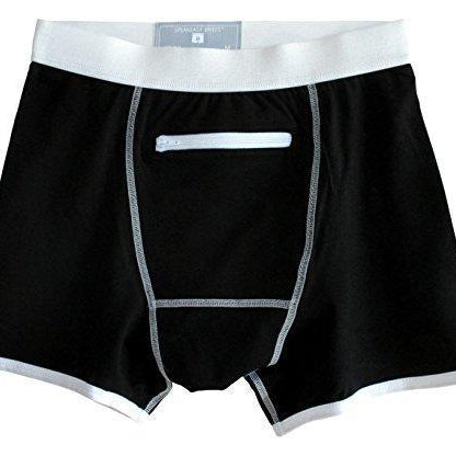 Men's Stash Underwear with a Secret Front Pocket