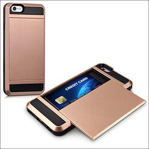 Hybrid Hardcase with Card Pocket Phone Case - Diversion Safes - Hide your stash and money in everyday items that contain secret compartments, if they don't see it, they can't get it -Secret Stashing