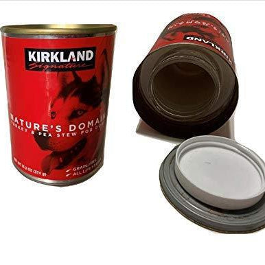 Fake Dog Food Can with Hidden Storage - Diversion Safes - Hide your stash and money in everyday items that contain secret compartments, if they don't see it, they can't get it -Secret Stashing
