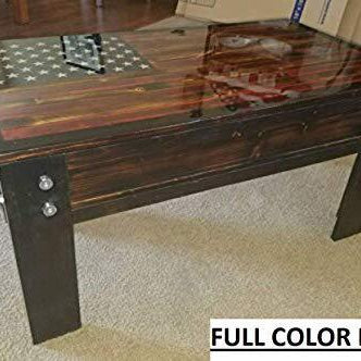 Concealed Coffee Table - Concealment furniture and gun concealment furniture to hide your money, pistol, rifle or other weapons, keep guns safe away from kids with hidden compartment furniture -Secret Stashing