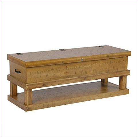 Wooden Gun Concealment Coffee Table with lock - Concealment furniture and gun concealment furniture to hide your money, pistol, rifle or other weapons, keep guns safe away from kids with hidden compartment furniture -Secret Stashing