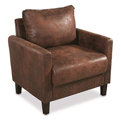 Faux Leather Concealment Chair