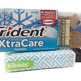 Kleenex & Trident Diversion Safe Box Stash - Diversion Safes - Hide your stash and money in everyday items that contain secret compartments, if they don't see it, they can't get it -Secret Stashing