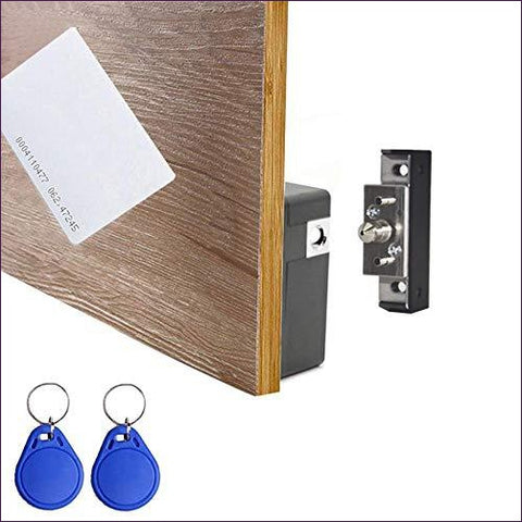 RFID Electronic Cabinet Lock Hidden DIY for Drawer Cabinet - DIY hidden compartments and diversion safes, build you own secret compartment to keep your money and valuables safe and avoid theft and stealing by burglars -Secret Stashing