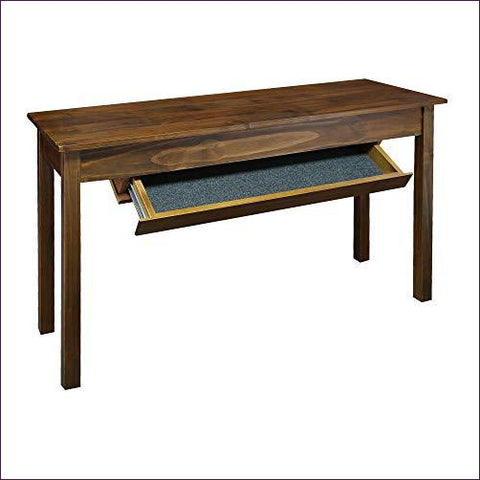 Kennedy Console Table with Concealed Drawer - Concealment furniture to keep your guns and valuables safe from kids and thieves by using secret and hidden compartments -Secret Stashing