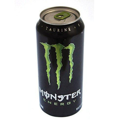 Energy Drink Branded Monster Disguised Stash Can