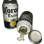 Fake Corona Beer Can Safe Secret Stash Safe - Diversion Safes - Hide your stash and money in everyday items that contain secret compartments, if they don't see it, they can't get it -Secret Stashing
