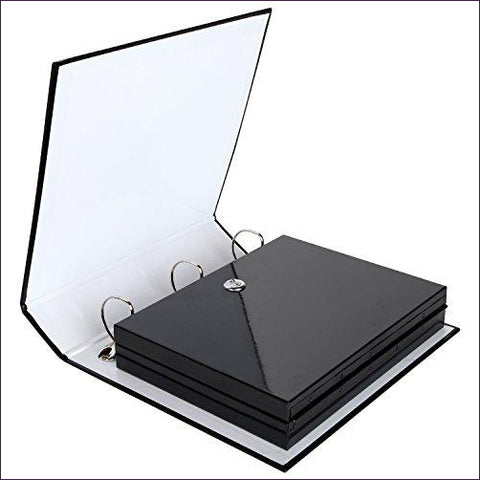 Binder Diversion Safe with Lock - Diversion Safes - Hide your stash and money in everyday items that contain secret compartments, if they don't see it, they can't get it -Secret Stashing
