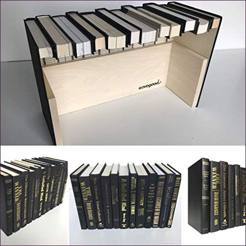 Hidden storage book box hider - Secret compartment decor - find furniture, statues and clocks and other decor products that look like your regular home decor with secret compartments and hidden drawers to keep your valuables hidden on plain sight -Secret Stashing