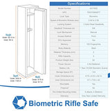 Barska Quick Access Biometric Rifle Safe - Home Safes - Find the best secured safes to keep your money, guns and valuables safes and secure -Secret Stashing