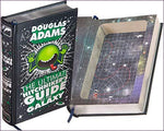 Leatherbound Book Safe - The Ultimate Hitchhiker's Guide to the Galaxy