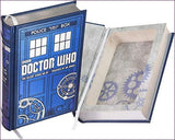 Doctor Who Hollow Book Safe with Magnetic Closure (Leather-bound)