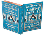 Leatherbound Book Safe with Magnetic Closure - Murder on the Orient Express