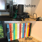 Hidden storage book box hider