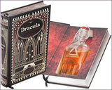 Flask Hollow Book - Dracula (Leather-bound)