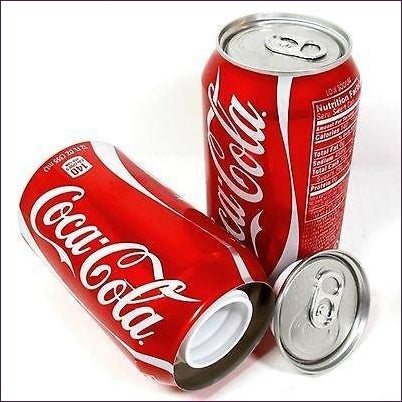 Coca Cola Coke Soda Can Diversion Safe Stash