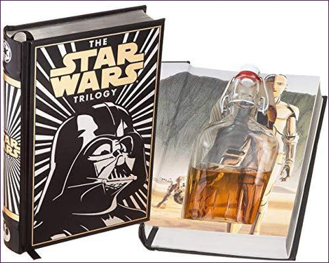 Star Wars Flask Hollow Book (Leather-bound) (Magnetic Closure)