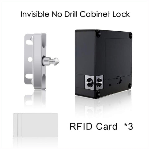 Card Locker Hidden DIY Kit