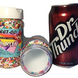 Sprinkles Jar Can Container to Hide Money Jewelry Stuff - Diversion Safes - Hide your stash and money in everyday items that contain secret compartments, if they don't see it, they can't get it -Secret Stashing