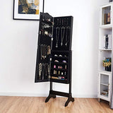 Jewelry Cabinet Armoire Lockable with Mirror - Diversion Safes - Hide your stash and money in everyday items that contain secret compartments, if they don't see it, they can't get it -Secret Stashing
