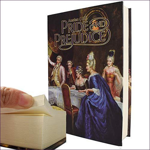 Pride and Prejudice - Real Paper Diversion Book Safe with Key - Diversion Safes - Hide your stash and money in everyday items that contain secret compartments, if they don't see it, they can't get it -Secret Stashing