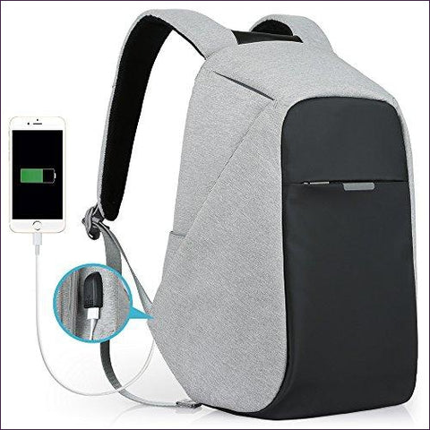 Anti-theft Travel Backpack - Diversion Safes - Hide your stash and money in everyday items that contain secret compartments, if they don't see it, they can't get it -Secret Stashing