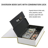 Diversion Book Safe with Combination Lock - Diversion Safes - Hide your stash and money in everyday items that contain secret compartments, if they don't see it, they can't get it -Secret Stashing