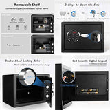 LCD Digital Fireproof Lock Box Safe Security Box - Home Safes - Find the best secured safes to keep your money, guns and valuables safes and secure -Secret Stashing