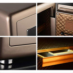 NILINLEI Fingerprint Digital Password All-steel Integrated into the Wall Safe - Home Safes - Find the best secured safes to keep your money, guns and valuables safes and secure -Secret Stashing