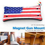 Gun Magnet Mount - U.S. Flag - Concealment furniture and gun concealment furniture to hide your money, pistol, rifle or other weapons, keep guns safe away from kids with hidden compartment furniture -Secret Stashing