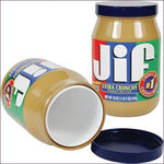 Jiffy Peanut Butter Diversion Stash Safe Model - Diversion Safes - Hide your stash and money in everyday items that contain secret compartments, if they don't see it, they can't get it -Secret Stashing
