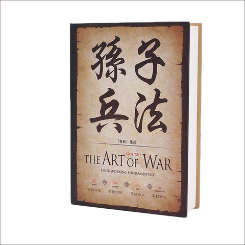 The Art of The War - Diversion Book Safe with Key Lock - Diversion Safes - Hide your stash and money in everyday items that contain secret compartments, if they don't see it, they can't get it -Secret Stashing