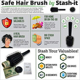 Diversion Safe Hair Brush - Diversion Safes - Hide your stash and money in everyday items that contain secret compartments, if they don't see it, they can't get it -Secret Stashing