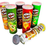 Secret Stash Random Pringles - Sealed W/ Chips inside - Diversion Safes - Hide your stash and money in everyday items that contain secret compartments, if they don't see it, they can't get it -Secret Stashing