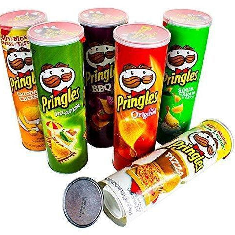 Secret Stash Random Pringles - Sealed W/ Chips inside - Diversion safes made out of every day items to keep your stash hidden and hide your money and valuables from the naked eye -Secret Stashing