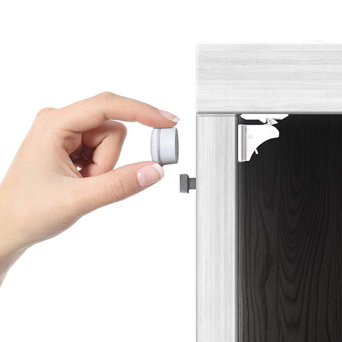 Magnetic Cabinet Locks - Child Safety Locks - DIY hidden compartments and diversion safes, build you own secret compartment to keep your money and valuables safe and avoid theft and stealing by burglars -Secret Stashing